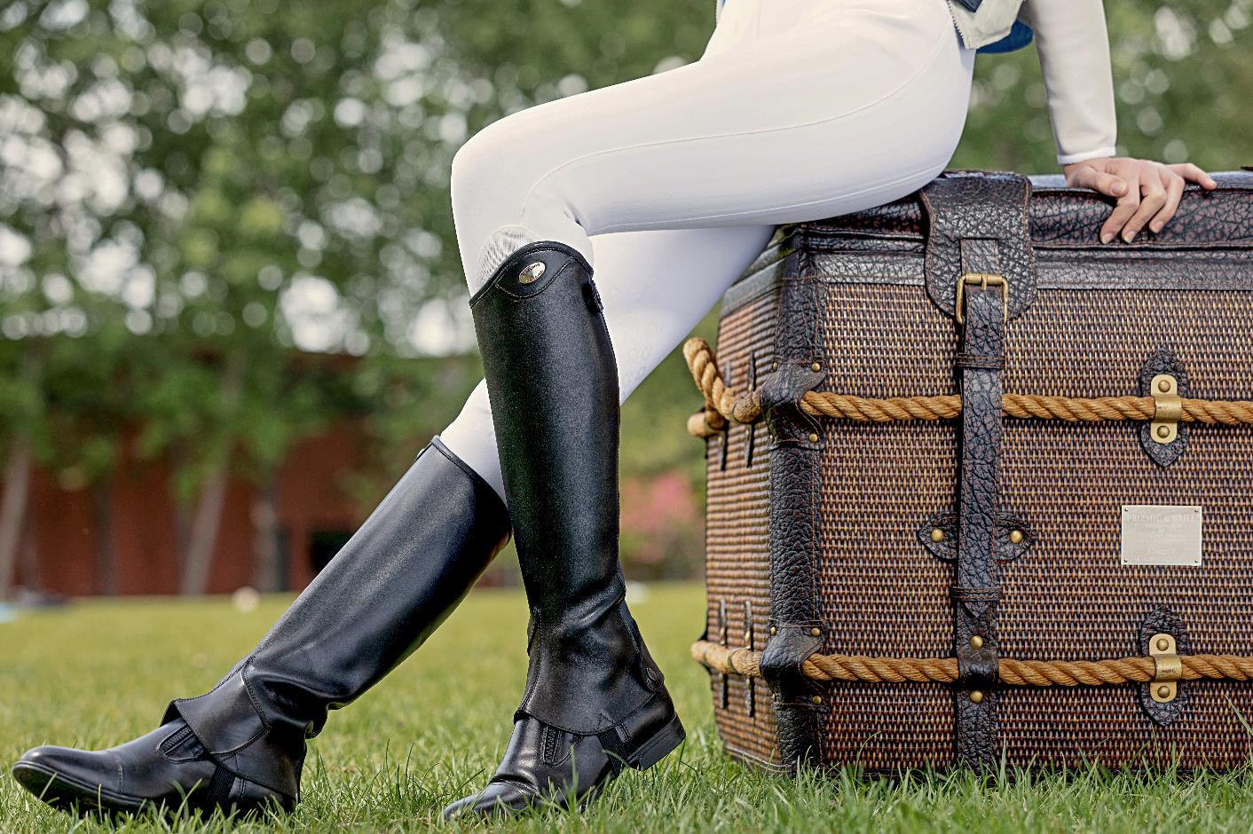 意大利PARLANTI单拉链牛皮短靴Z1-Calfskin Ankle Boots
