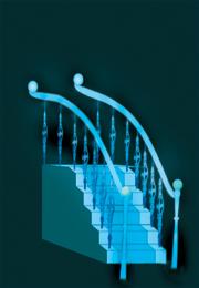 夜光同信证券楼梯