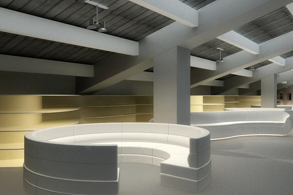 北京十一学校图书馆改造