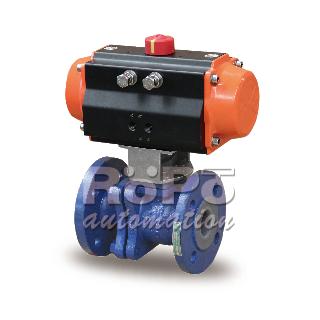 RP-500F 衬氟球阀