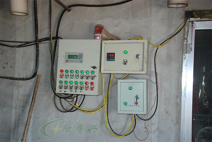 锅炉温控箱