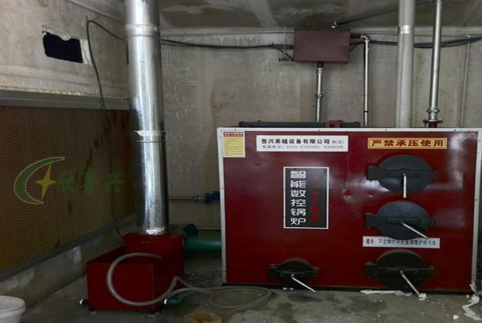 水暖智能数控锅炉安装完毕