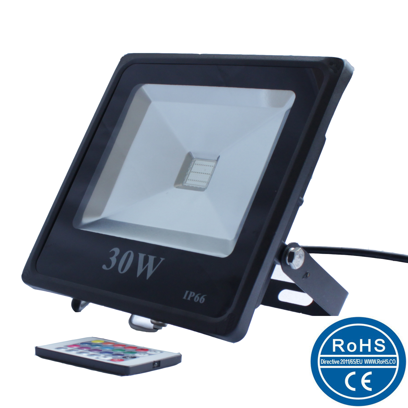 Picture of RGB LED floodlight/colorful LED floodlight/IP65 ZPFLRS-001