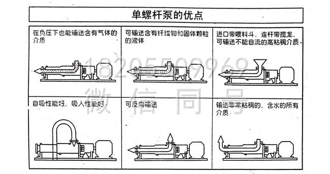 G型不锈钢单螺杆泵优点