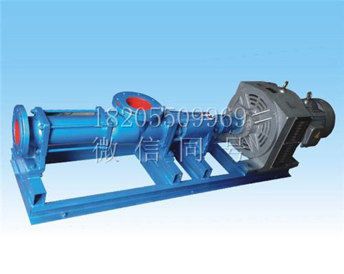 电磁调速螺杆泵