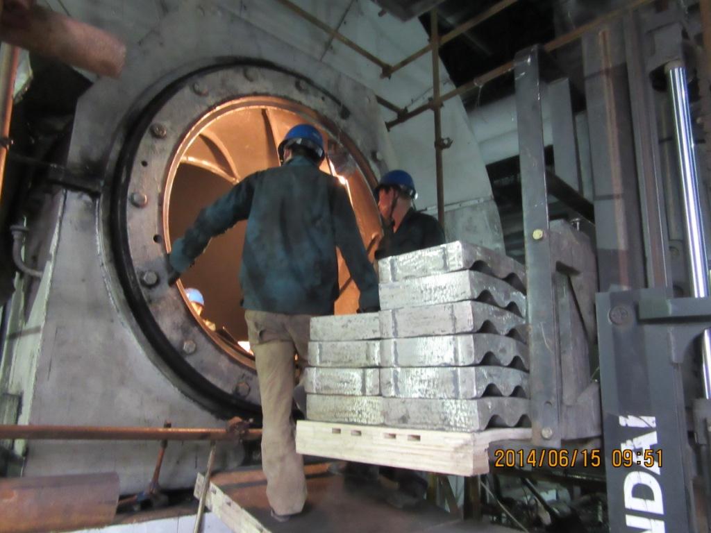 华电河北项目施工
