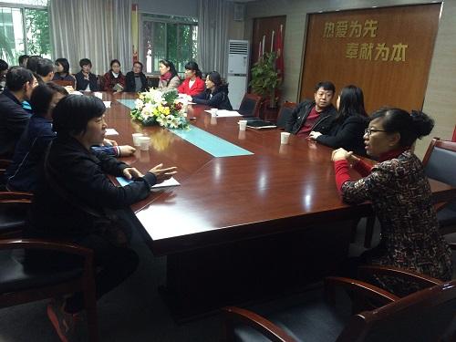 山东潍坊盲童学校教师到西安市盲哑学校参观交流