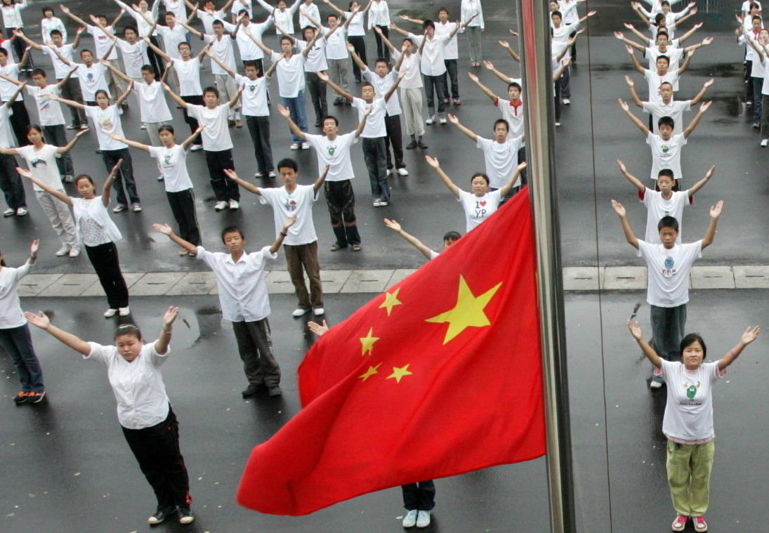 具有广泛社会影响的手语国歌升旗仪式