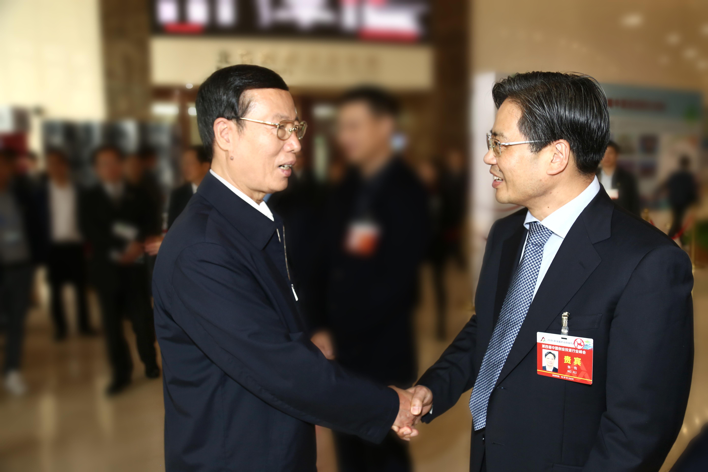 张伟董事长出席第四届中国创投行业峰会 受到张高丽副总理亲切接见