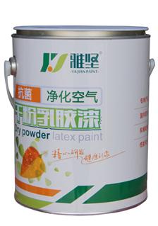 抗菌和空气净化干粉乳胶漆