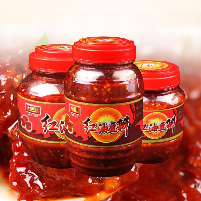 红油豆瓣瓶装
