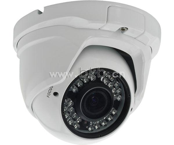 400万/300万像素防暴半球型红外网络摄像机(4M/30米夜视)