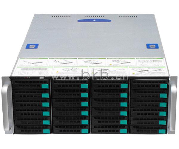 256路高清NVR网络监控服务主机(24HD/支持硬盘热插拔)