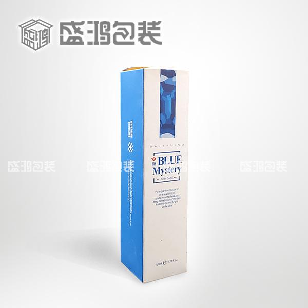 蓝药膏包装盒