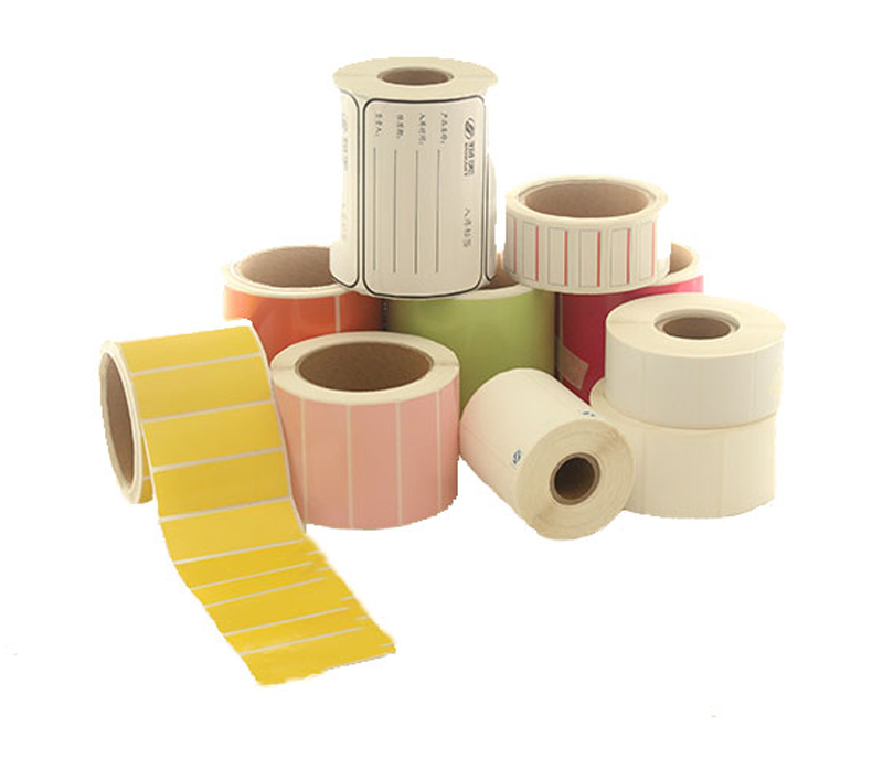 Thermal Paper with Glassine release paper