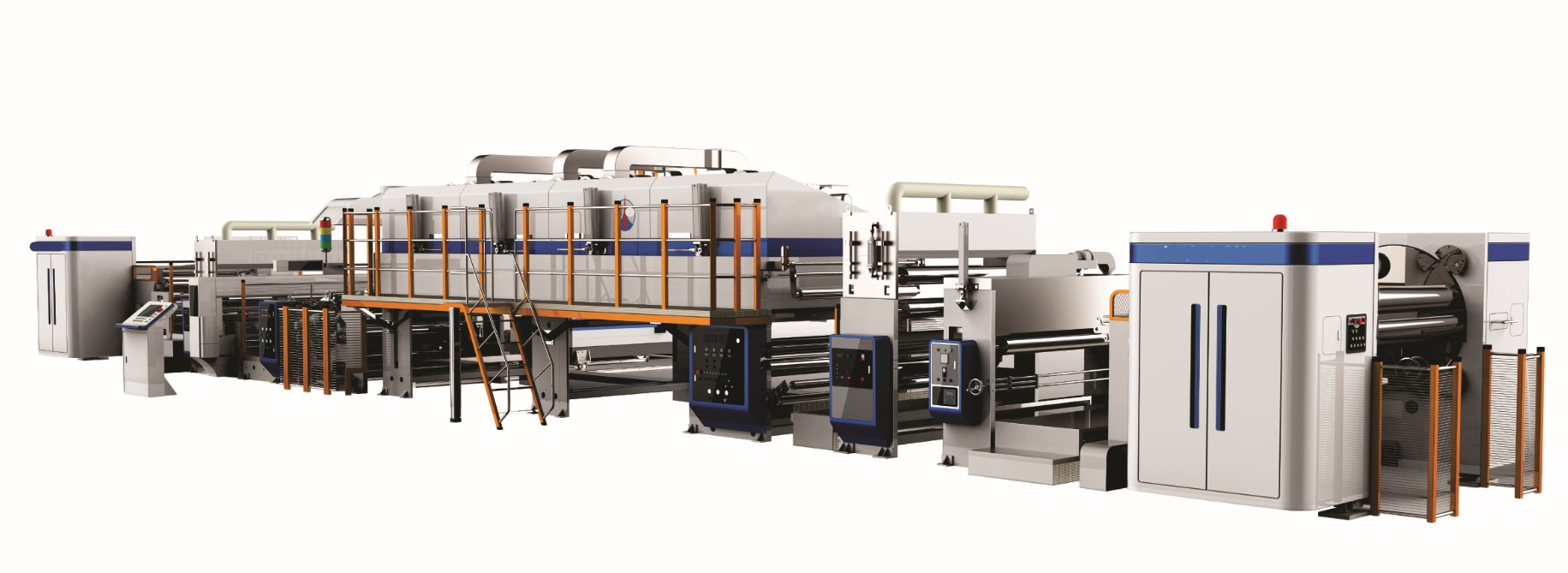 Pre-coated film (protective film) extrusion compound production line