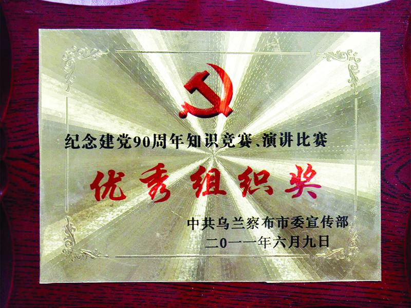 11年建党荣誉奖牌5
