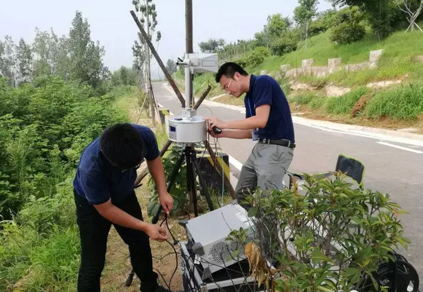 济宁市气象局天气雷达电磁环境测试工作