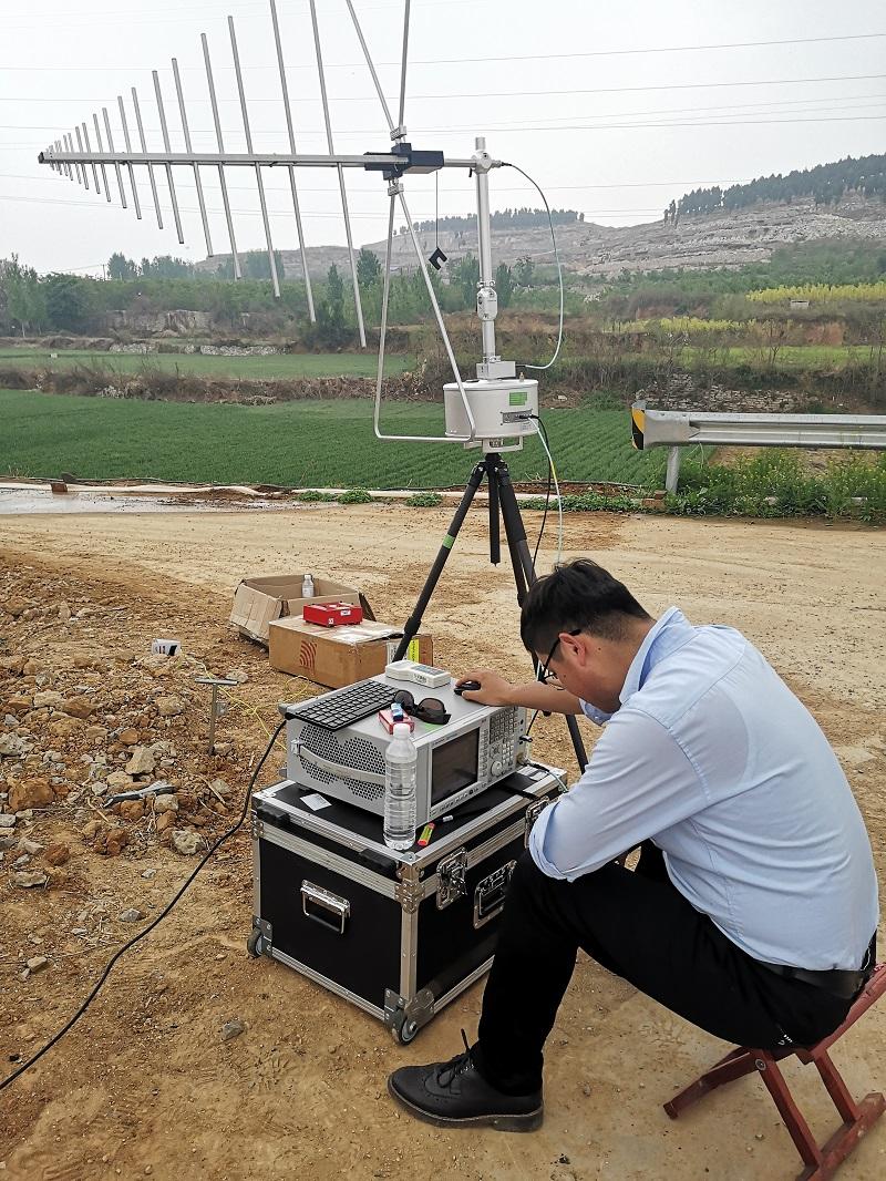 泰安机场电磁环境测试