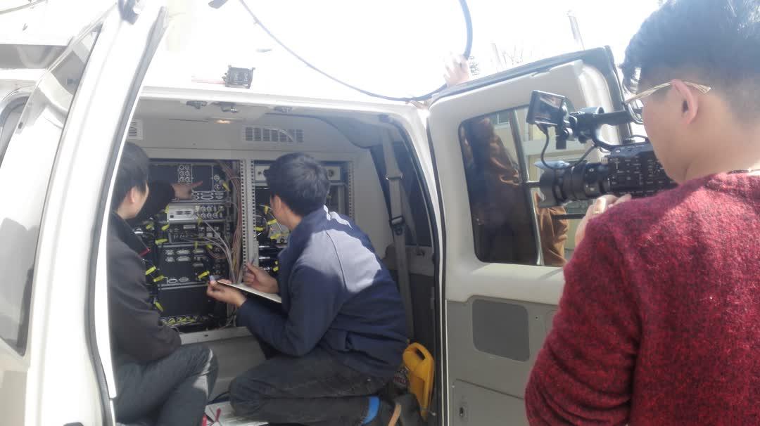 监测车设备检测