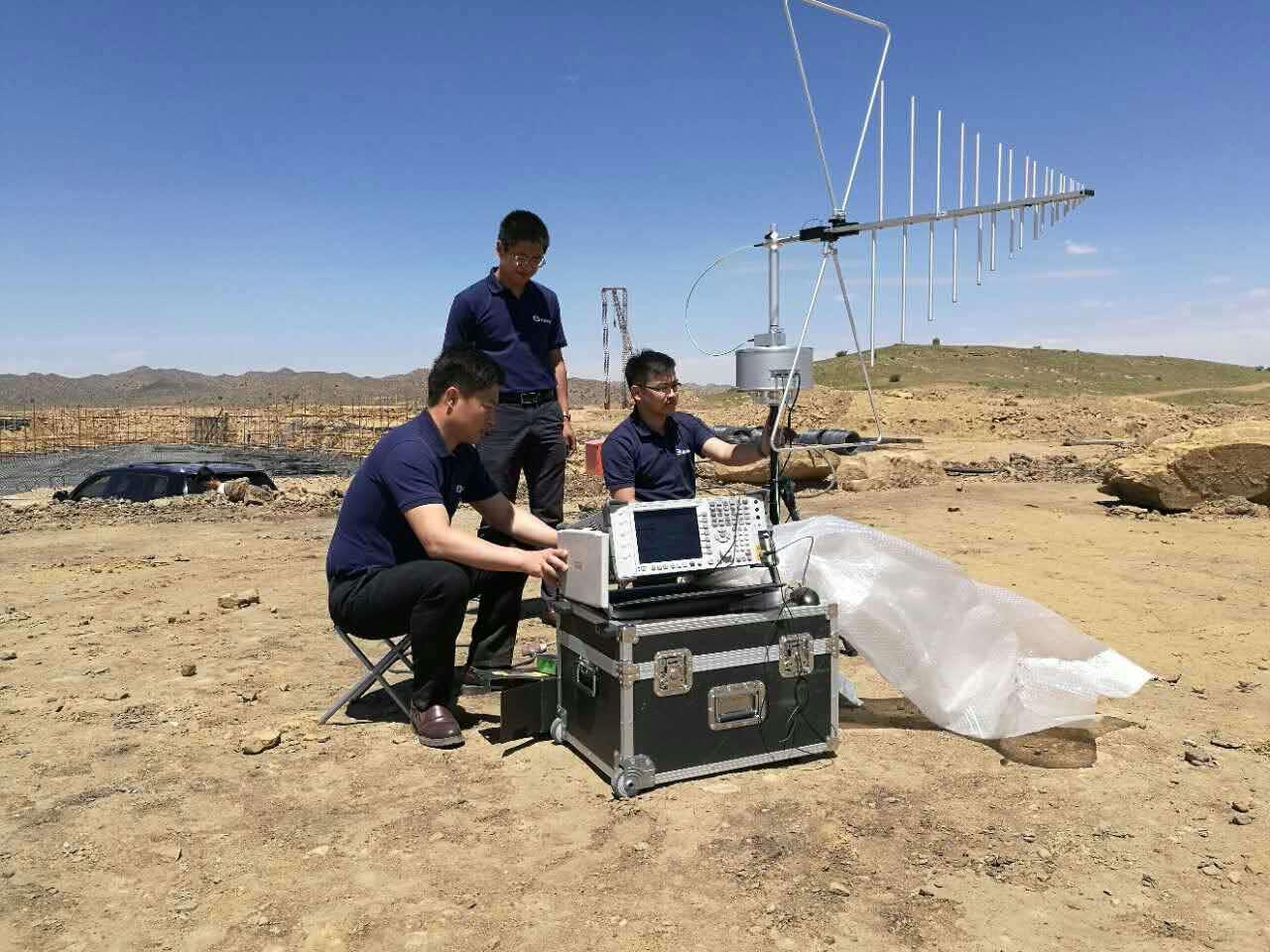 内蒙古包头市通用机场电磁环境测试