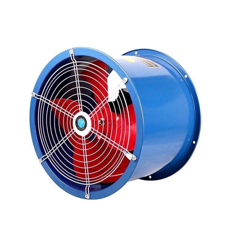 SFG管道式低噪音轴流风机