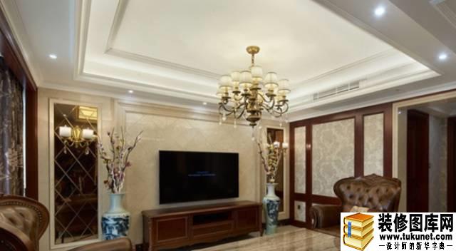 美式古典别墅装修效果图-家居效果图案例 家庭装修图片案例 装修图库