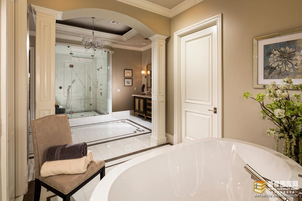 新中式卧室实木全屋装修效果图