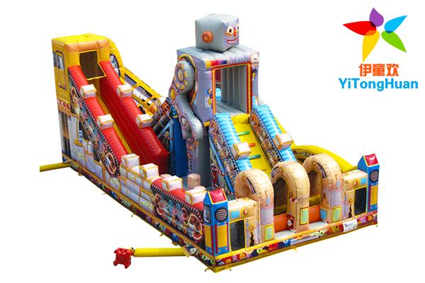 充气机器人城堡