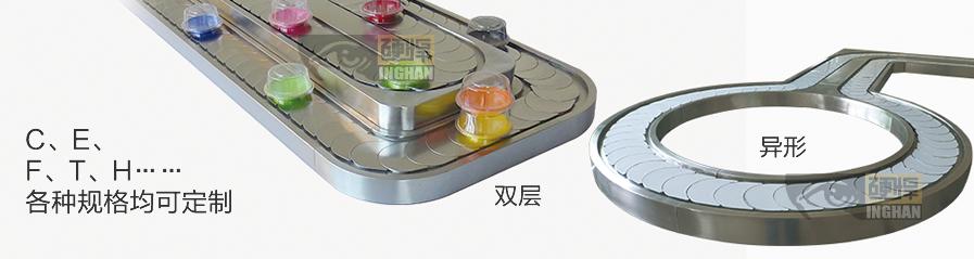 双层回转寿司设备机台定制