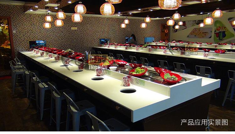 旋转小火锅餐厅案例