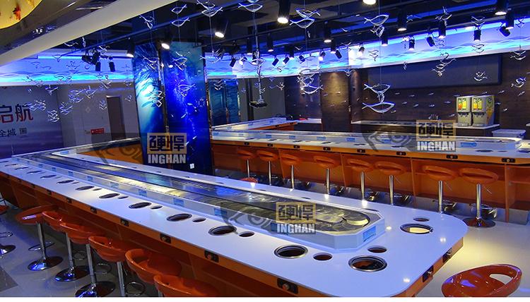 海洋主题旋转小火锅餐厅