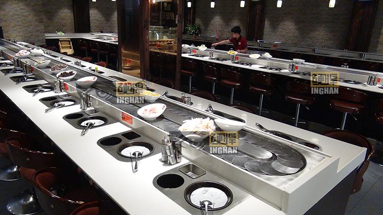 四季烤涮一体餐厅案例