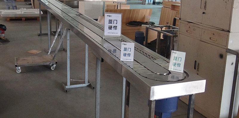 日本料理回转寿司设备工厂调试