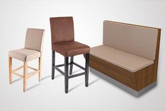 旋转小火锅餐厅餐椅,各式餐厅餐椅均可定制