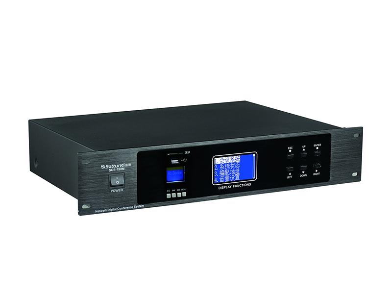 SCS-790M网络摄像跟踪会议系统主控机