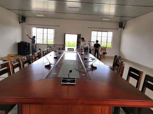 广西某农业发展公司会议室