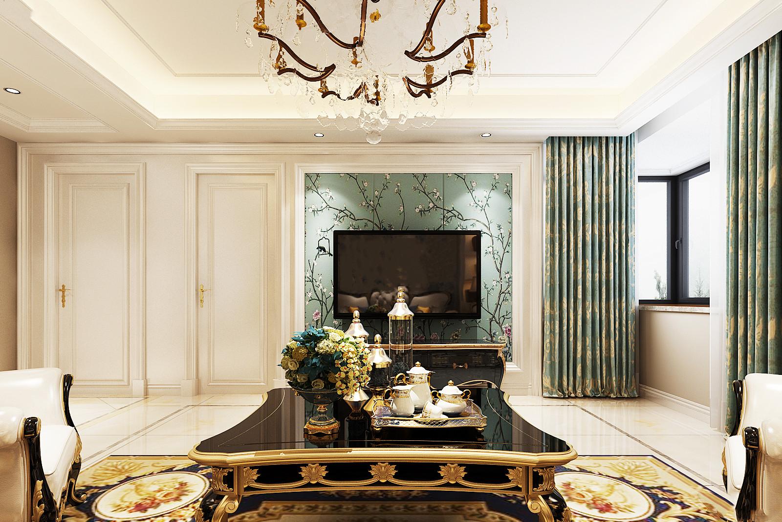 鄱阳装修设计--法式古典浪漫风格