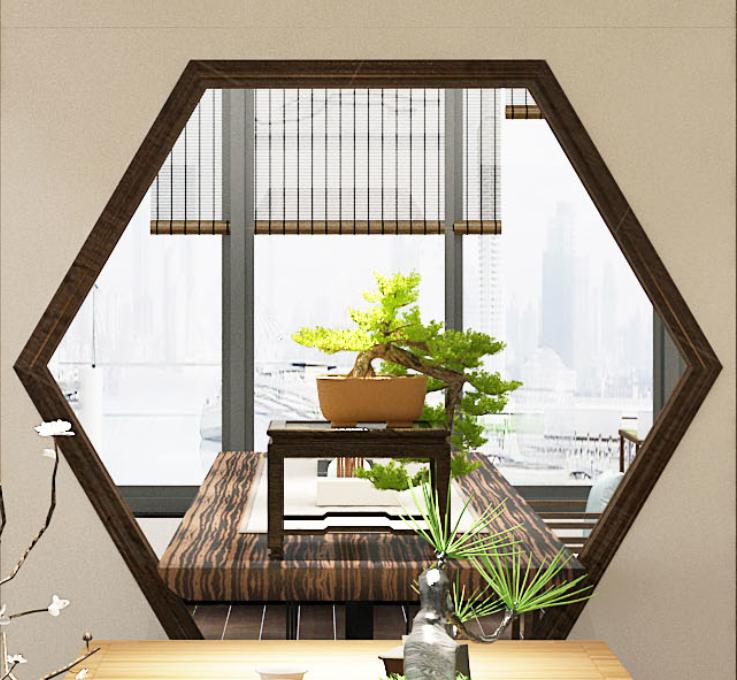 上饶工装设计--中式茶室