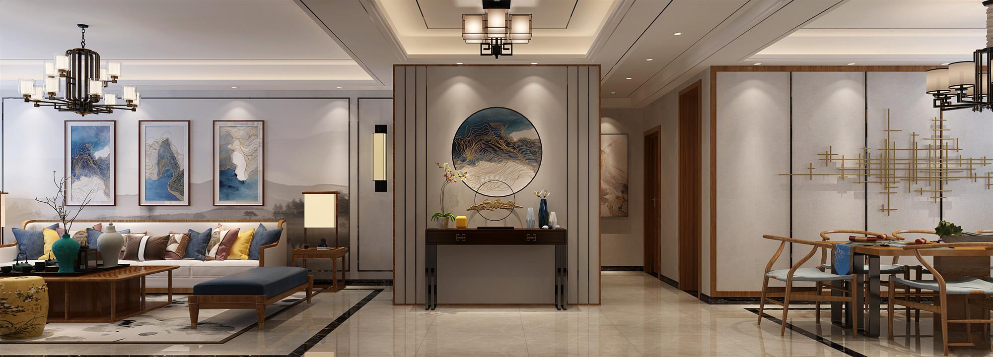 江西家装设计--家装新中式