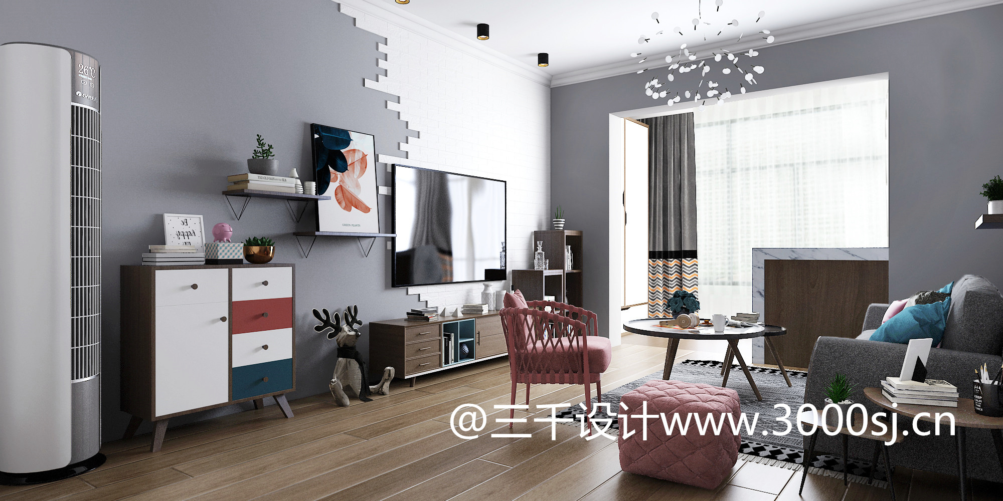 鄱阳装修设计--家装北欧风格
