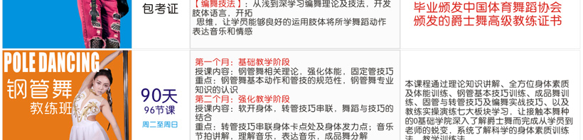 90天 96节课 颁发中国体育舞蹈协会高级教练证书