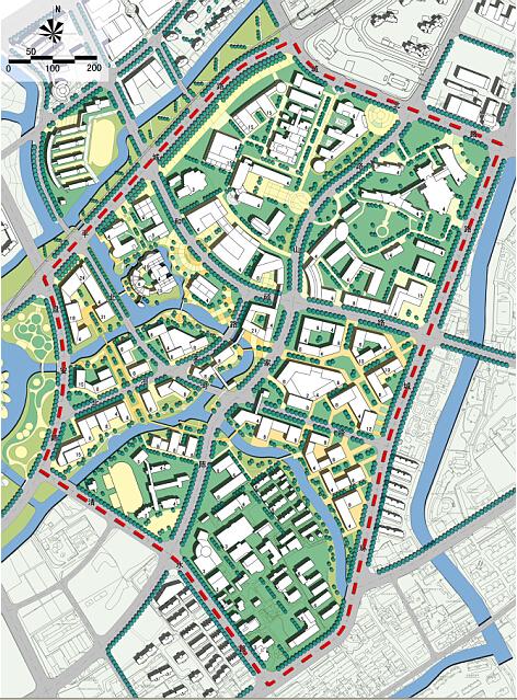 上海电视大学嘉定分校_嘉定新城菊园社区城市设计-上海广境规划设计有限公司