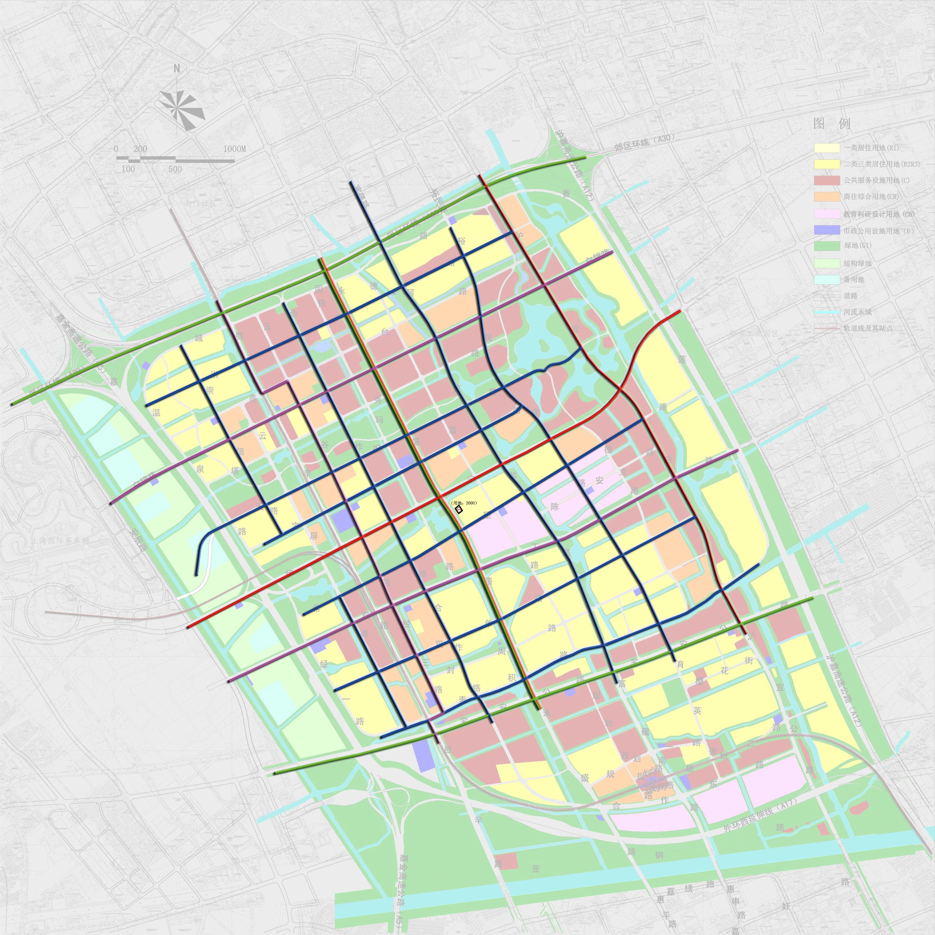 市政燃气图(规划)