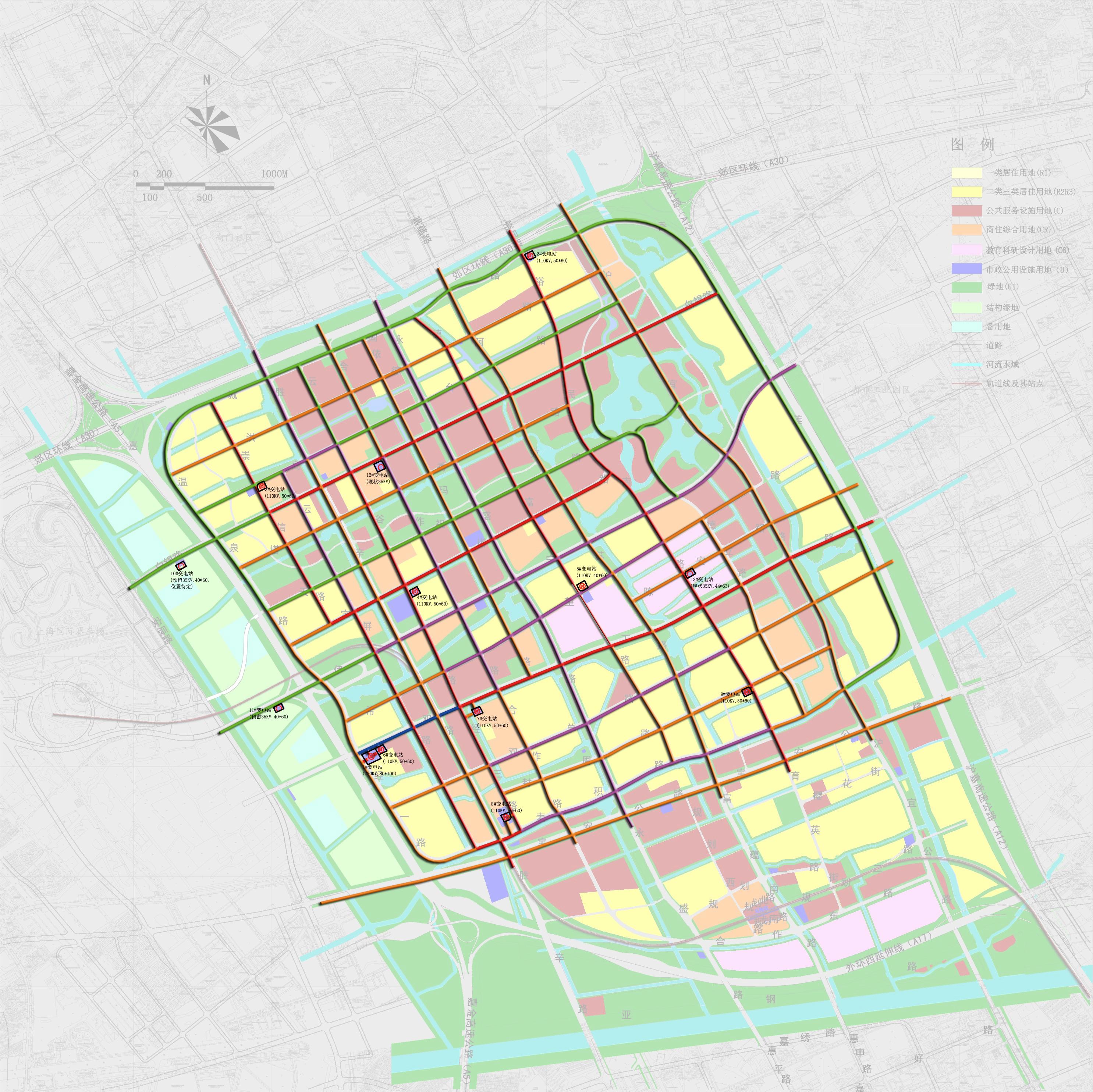 市政电力图(规划)