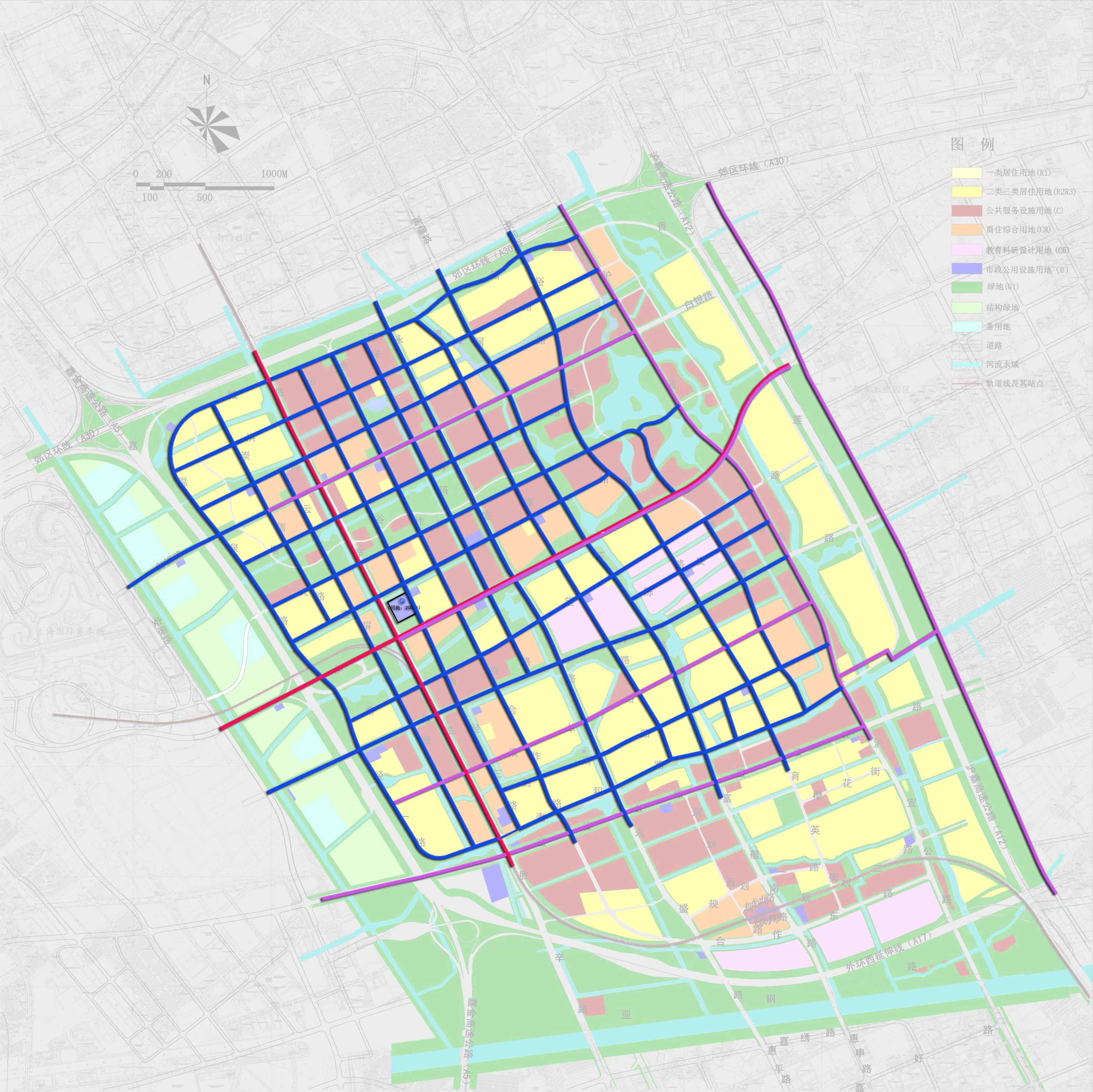 市政给水图(规划)