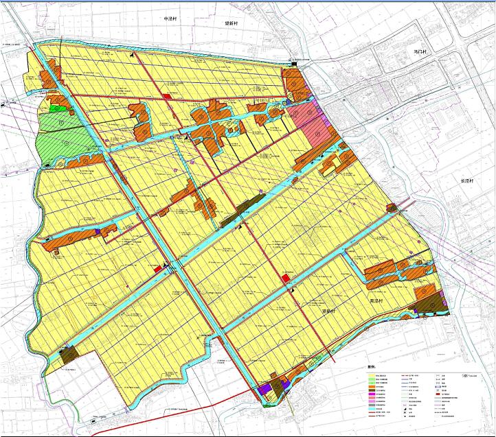 片区规划总平面图