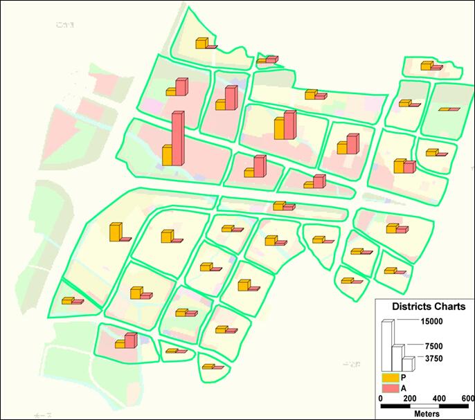 真一区社区地图