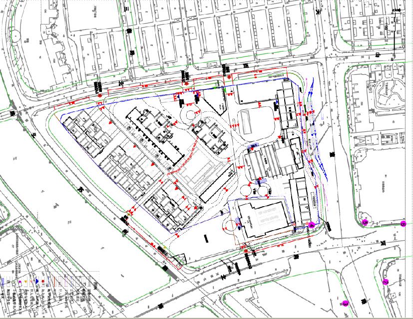项目交通组织平面图