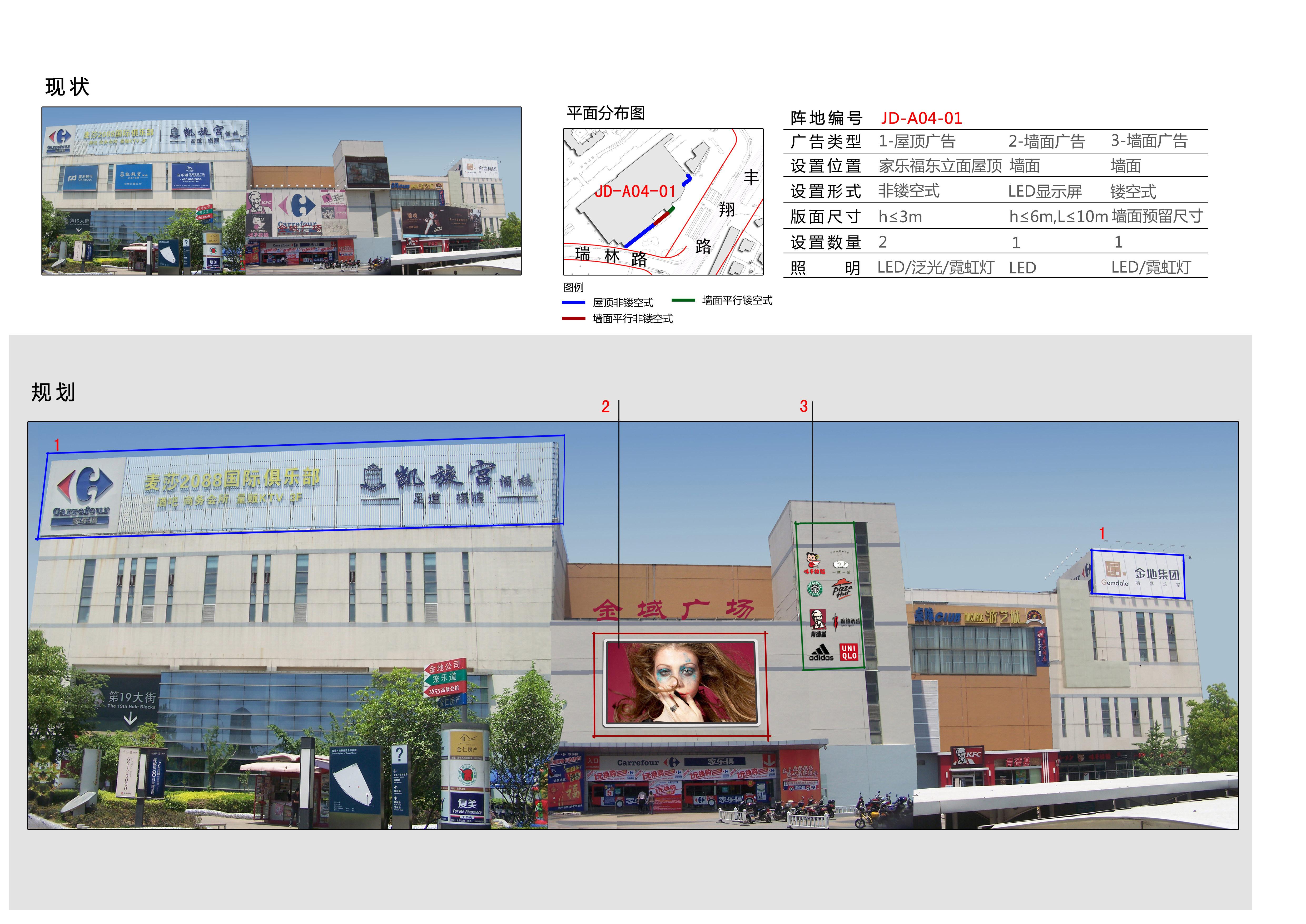 南翔东社区家乐福地块规划示意图